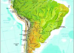 Andes mountains map from pbslearningmedia 5