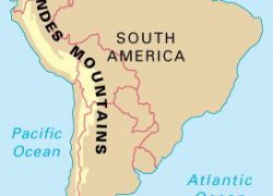 Andes mountains map from sporcle 9