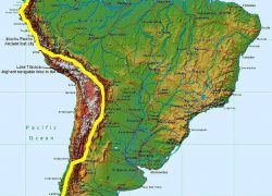 Andes Mountains On World Map: Andes mountains on world map from pinterest 2