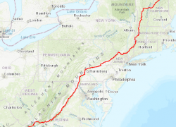 Appalachian Trail Map: Appalachian trail map from appalachiantrail 1
