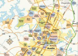 Austin Texas Map: Austin texas map from pinterest 1