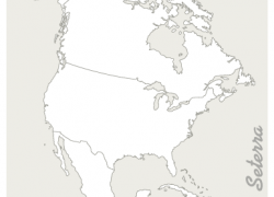 Blank North America Map: Blank north america map from online 1