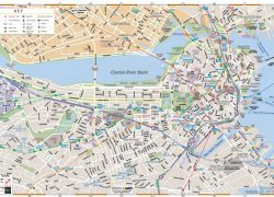 Boston Map: Boston map from wheretraveler 1