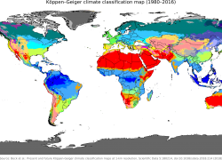 Climate Map: Climate map from en 1