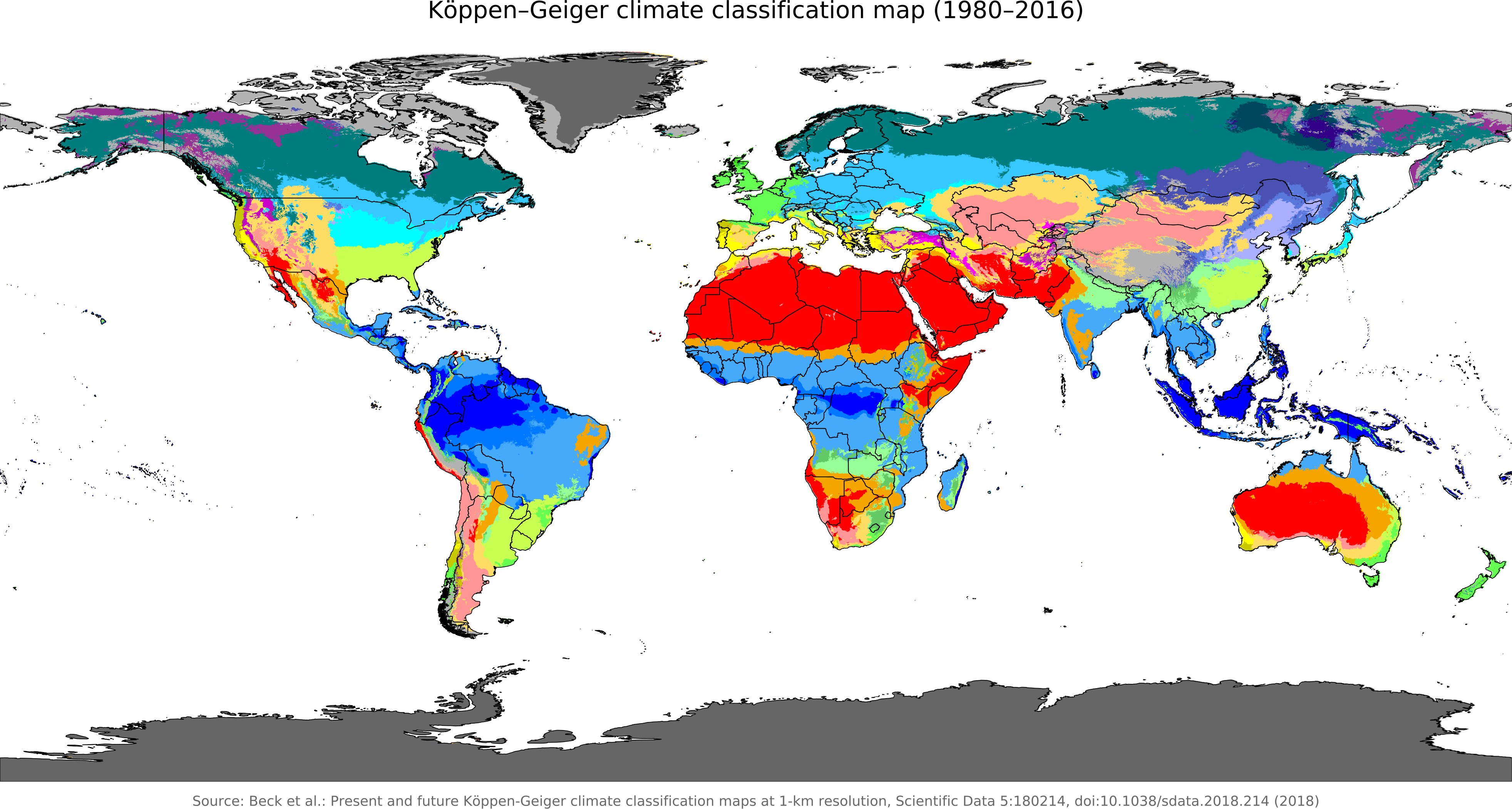 Climate Map From En 1