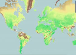 Climate map from phys 8