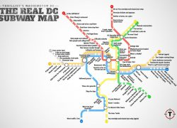 Dc metro map from dc 10