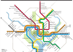 Dc metro map from rand 3