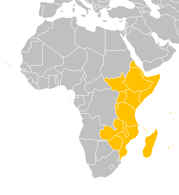 East africa map from en 1