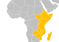 East africa map from en 5