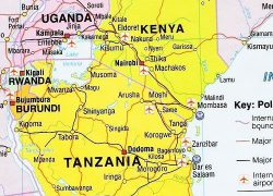 East africa map from researchgate 10