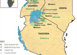 East africa map from researchgate 2