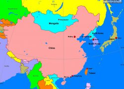 East asia map from alearningfamily 7