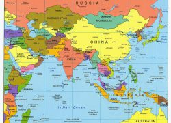 East asia map from pinterest 9