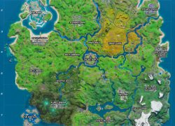 Fortnite Season 3 Map: Fortnite season 3 map from vg247 3