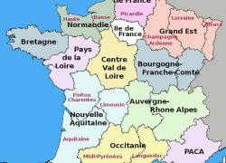 France map from about france 3
