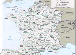 France map from map france 5