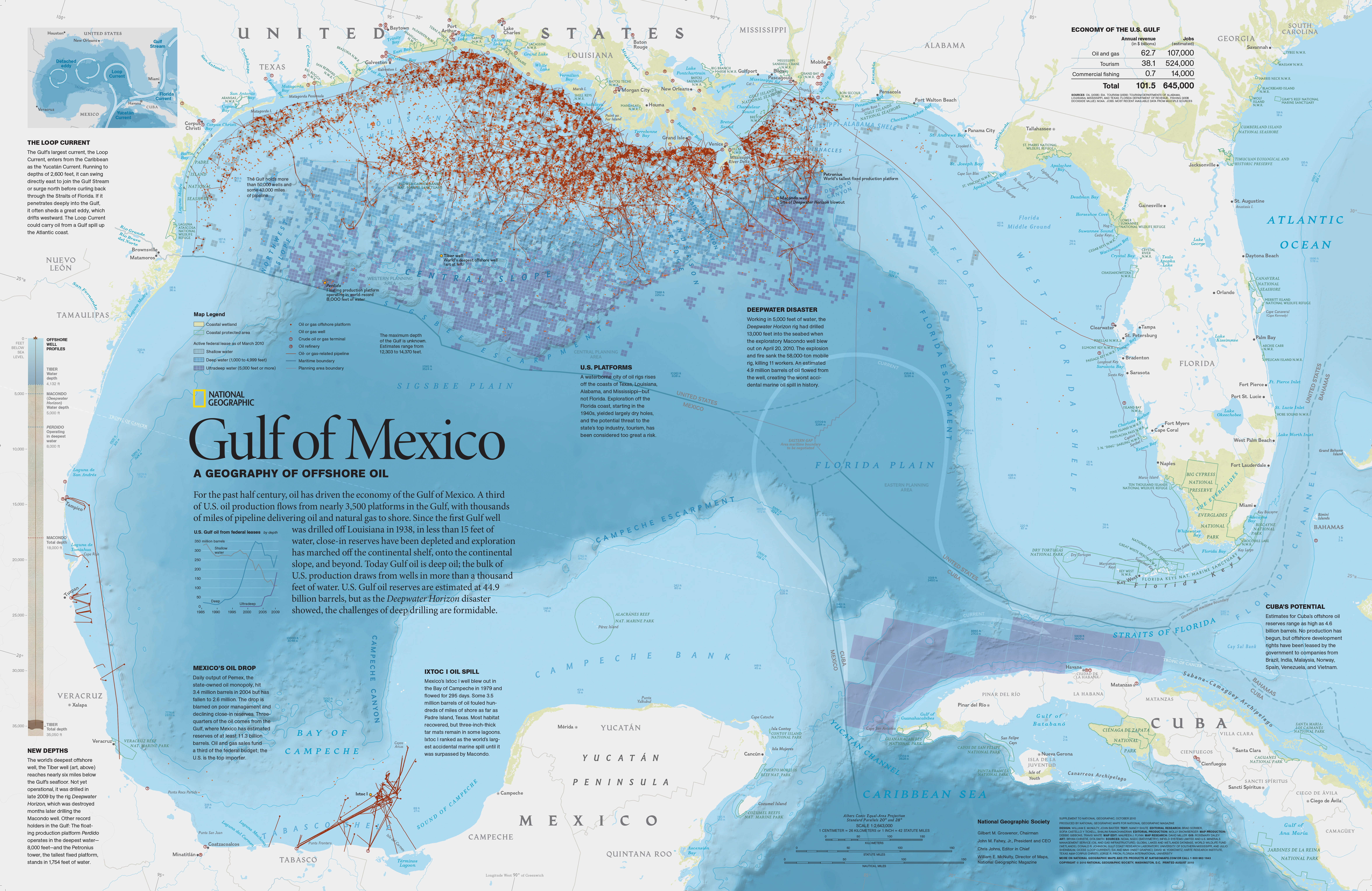 Gulf Of Mexico On Map