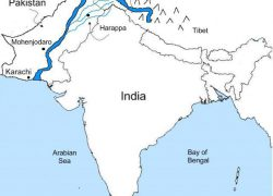 Indus River Map: Indus river map from pinterest 1