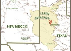 Llano Estacado Map: Llano estacado map from pinterest 1