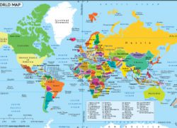 Map Of The World: Map of the world from mapsofworld 1