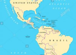 North and south america map from alamy 3