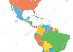 North and south america map from alamy 9