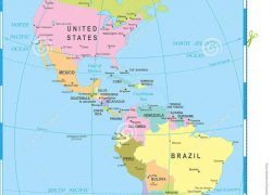 North and south america map from dreamstime 6