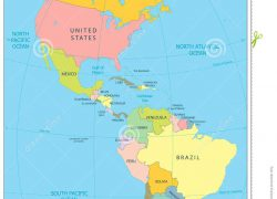 North and south america map from dreamstime 8