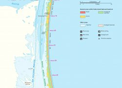 Padre island map from npmaps 4