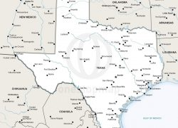 Political map of texas from onestopmap 4