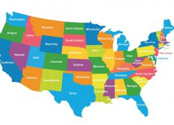 Political Map Of Usa: Political map of usa from ephotopix 1