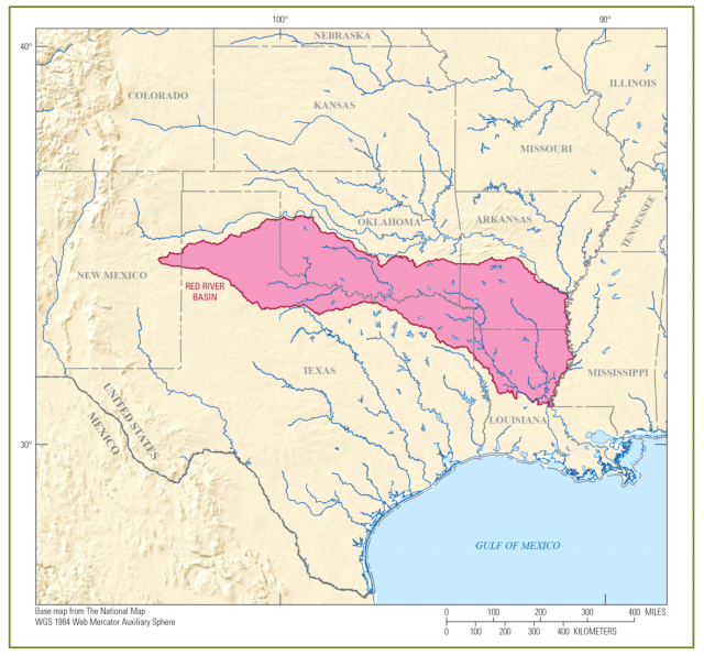 Red River Map