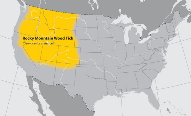 Rocky Mountains On Us Map