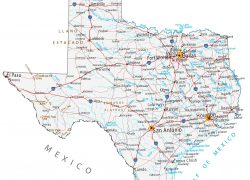 Texas Map: Texas map from gisgeography 1