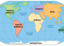 The 7 continents map from pinterest 5