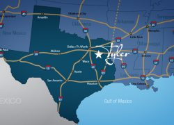 Tyler texas map from tedc 5