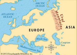 Ural mountains map from flickr 7