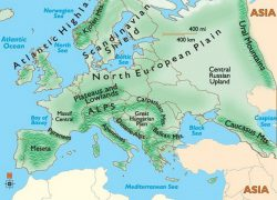 Ural mountains map from pinterest 8