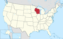 Wisconsin On Us Map