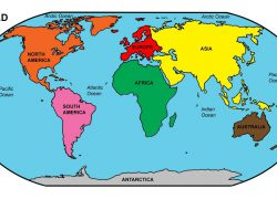 World map labeled oceans from worldmapwithcountries 2