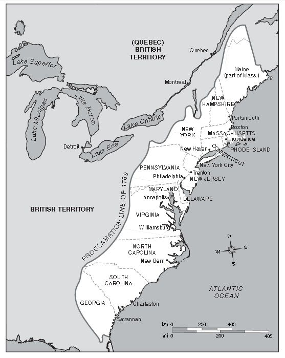 13 british colonies map from pinterest 1