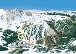 A basin trail map from freeskier 10
