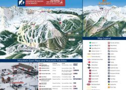 A basin trail map from onthesnow 2