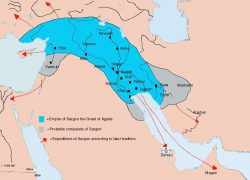 Akkadian Empire Map: Akkadian empire map from pinterest 2