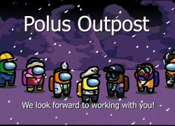 Among us map polus from youtube 9