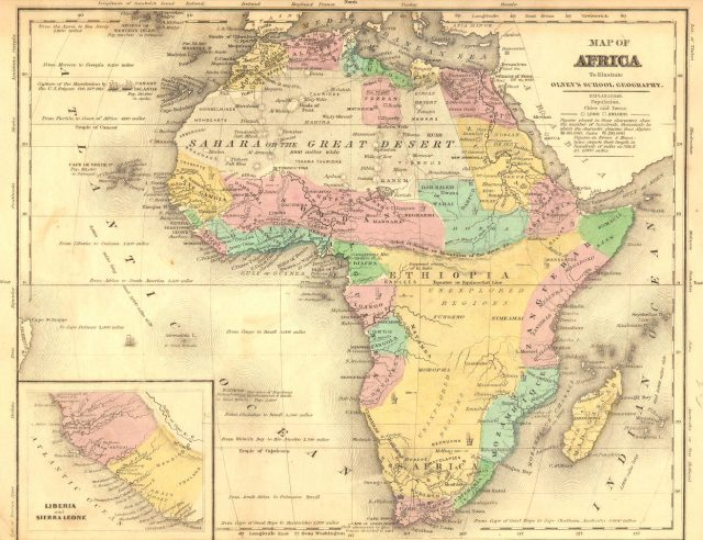 Ancient africa map from pinterest 1