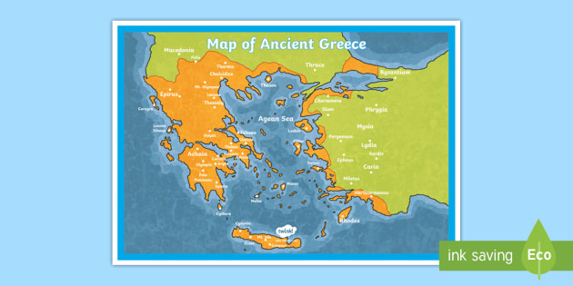 Ancient Greece Map