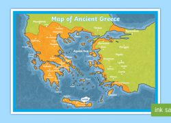 Ancient greek map from twinkl 8