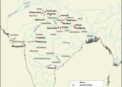 Ancient India Map: Ancient india map from mapsofindia 1